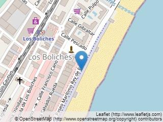 Plano de acceso de Hotel Confortel Fuengirola