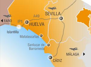 Plano de acceso de Puerto Antilla Grand Hotel