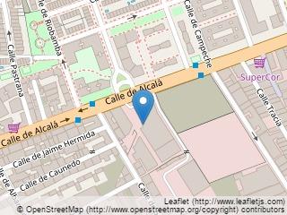 Plano de acceso de Hotel Velada Madrid