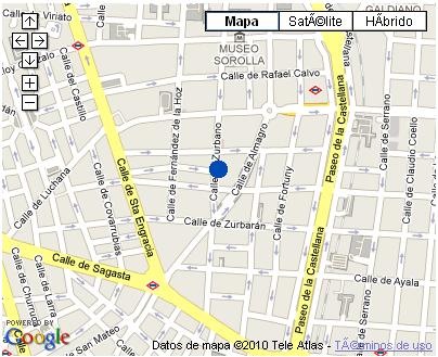 Plano de acceso de Hotel Ac Santo Mauro