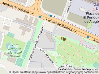 Plano de acceso de Hotel Eurostars Plaza Delicias