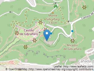 Plano de acceso de Hotel Parador Malaga Gibralfaro