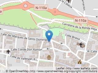 Plano de acceso de Hotel Parador Avila