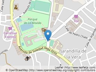Plano de acceso de Hotel Parador Jarandilla De La Vera