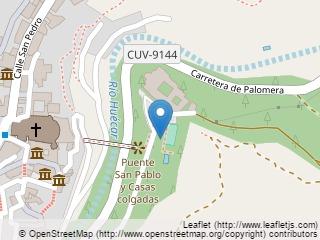 Plano de acceso de Hotel Parador Cuenca