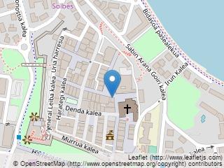 Plano de acceso de Hotel Parador Hondarribia