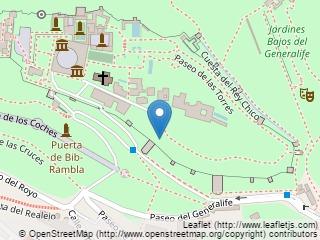 Plano de acceso de Hotel Parador Granada