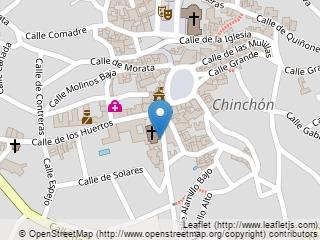 Plano de acceso de Hotel Parador Chinchón