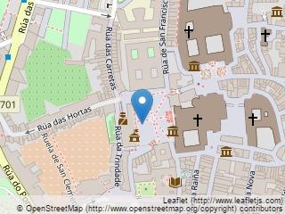 Plano de acceso de Hotel Parador Santiago De Compostela