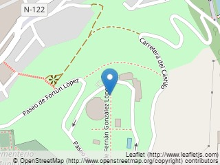 Plano de acceso de Hotel Parador Soria