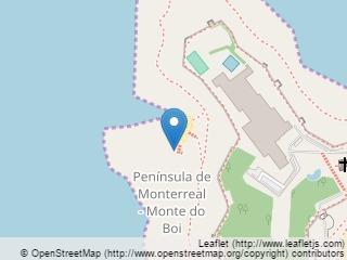 Plano de acceso de Hotel Parador Baiona
