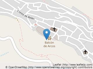 Plano de acceso de Hotel Parador Arcos De La Frontera