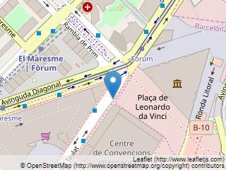 Plano de acceso de Hotel Barcelona Princess