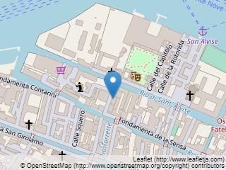 Plano de acceso de Hotel Residenza Cannaregio