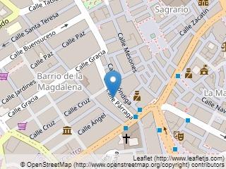Plano de acceso de Hotel Sacromonte
