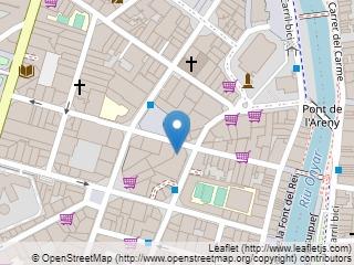 Plano de acceso de Hotel Carlemany Girona