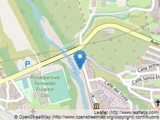 Plano de acceso de Hotel Tierra De Biescas
