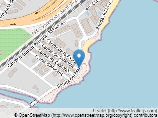 Plano de acceso de Hotel Flamingo