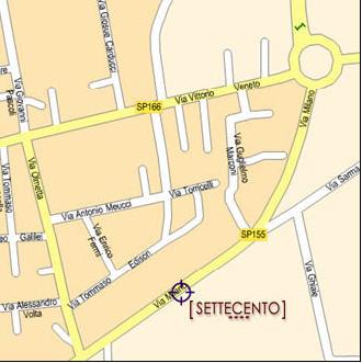 Plano de acceso de Hotel H10 Estepona Palace