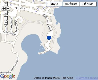 Plano de acceso de Hotel Barcelo Castillo Beach Resort