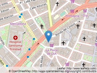 Plano de acceso de Hotel Artheus Carmelitas Salamanca