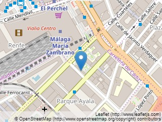 Plano de acceso de Hotel Silken Puerta Malaga