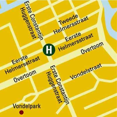 Plano de acceso de Hotel Europa 92