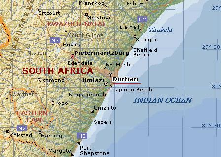 Dormir en Hotel Garden Court Marine Parade en Durban