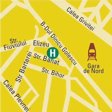 Plano de acceso de Hotel Elizeu