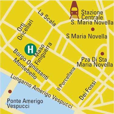 Plano de acceso de Grand Hotel Adriatico