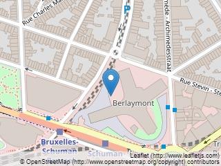 Plano de acceso de Hotel Silken Berlaymont