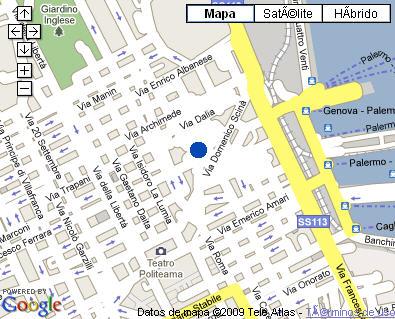 Plano de acceso de Hotel Vecchio Borgo