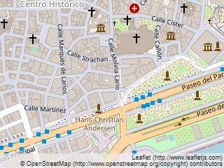 Plano de acceso de Hotel Molina Lario
