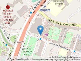 Plano de acceso de Hotel Alimara Barcelona