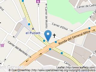 Plano de acceso de Hotel Eurostars Mitre
