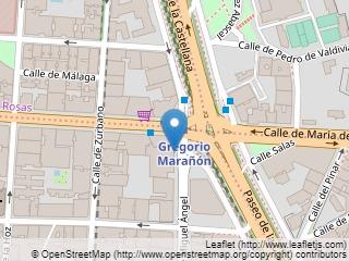 Plano de acceso de Hotel Occ. Miguel Angel And Urban Spa