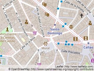 Plano de acceso de Hotel Santo Domingo