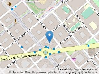 Plano de acceso de Hotel Leyre