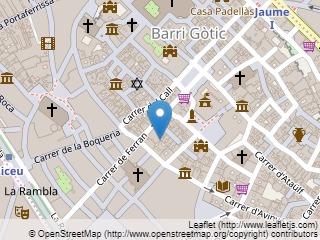 Plano de acceso de Hotel Rialto