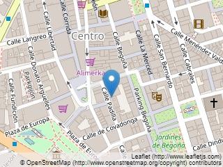 Plano de acceso de Hotel Hernan Cortes