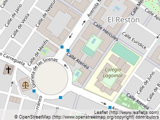 Plano de acceso de Hotel Reston Valdemoro