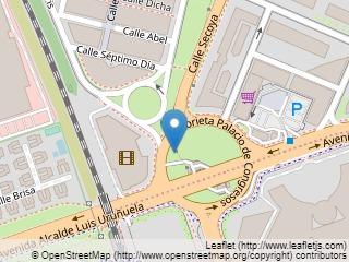 Plano de acceso de Hotel Aptos. Luxsevilla Palacio