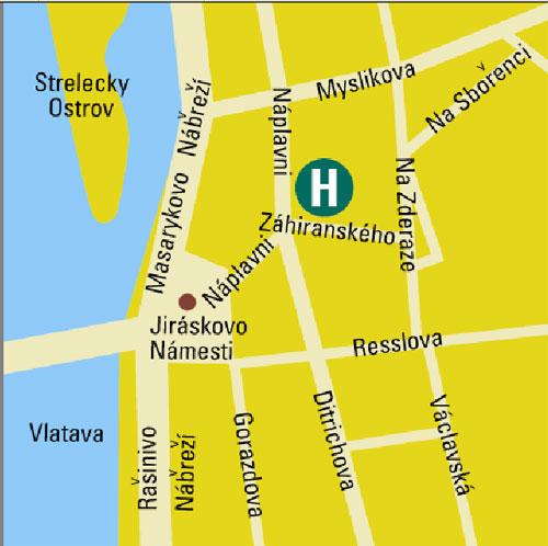 Plano de acceso de Hotel Eurostars David