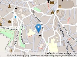 Plano de acceso de Hotel Fontecruz Toledo