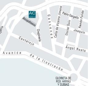 Plano de acceso de Hotel Ac Monte Real