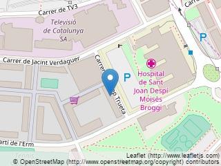 Plano de acceso de Aparthotel Hesperia St. Joan