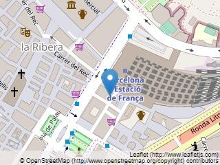Plano de acceso de Hotel Santa Marta
