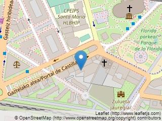 Plano de acceso de Hotel Silken Ciudad De Vitoria
