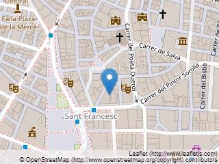 Plano de acceso de Hotel Ayre Astoria Palace