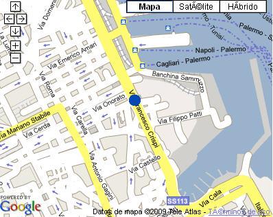 Plano de acceso de Hotel Ponte